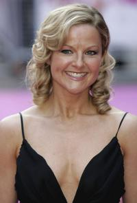 Sarah Hadland at the premiere of