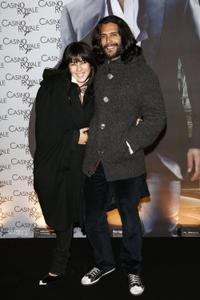 Mylene Jampanoi and Guest at the premiere of