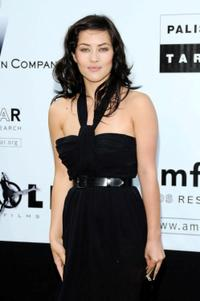 Mylene Jampanoi at the amfAR's