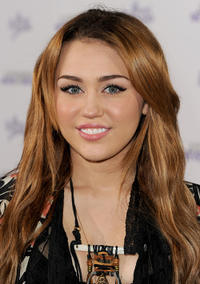 Miley Cyrus at the California premiere of