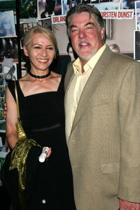 Bruce McGill and Gloria at the premiere of