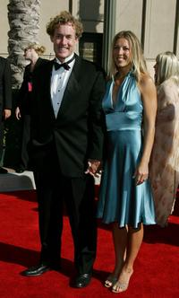 John C. McGinley and Nicole Kessler at the 2006 Creative Arts Awards.