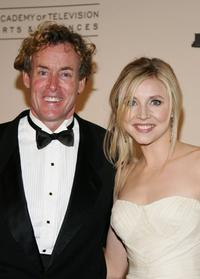 John C. McGinley and Sarah Chalke at the 2006 Creative Arts Awards.