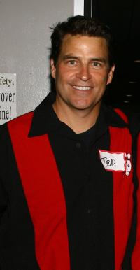 Ted McGinley at the Second Stage Theatres 19th Annual All-Star Bowling.