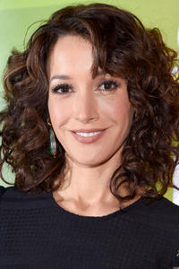 Jennifer Beals at the NBCUniversal press junket in New York City.