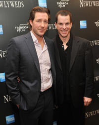 Director Ed Burns and Mike McGlone at the New York premiere of