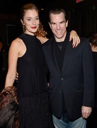Caitlin Fitzgerald and Mike McGlone at the Special New York screening of