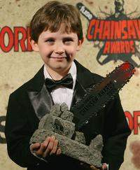 Seamus Davey-Fitzpatrick at the Fuse Fangoria Chainsaw Awards.