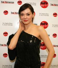 Rose McGowan at the Hollywood Reporter Key Art Awards.