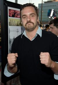 Jake Johnson at the Los Angeles screening of