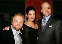 Toby Jones, Sandra Bullock and Doug McGrath at the after party of the premiere of