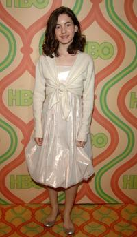 Ivana Baquero at the after party of HBO's Post Golden Globe.