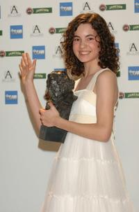 Ivana Baquero at the Goya Cinema Awards ceremony.