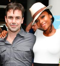 Matt McGrath and Yaya DaCosta at the premiere party of