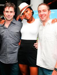 Matt McGrath, Yaya DaCosta and Josh Green at the premiere party of