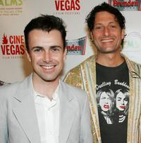 Matt McGrath and director David Munro at the screening of
