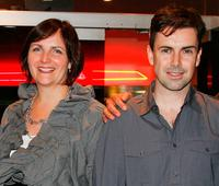 Sheila Ennis and Matt McGrath at the premiere party of