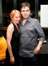 Amy Ryan and Matt McGrath at the premiere party of
