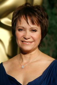 Adriana Barraza at the 79th annual Academy Award nominees luncheon.