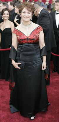 Adriana Barraza at the 79th Annual Academy Awards.