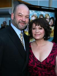 Arnaldo Pipke and Adriana Barraza at the premiere of