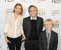 Haley Bennett, director Joe Dante and Nathan Gamble at the AFI FEST 2009.