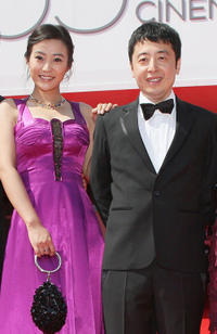 Hao Lei and director Jia Zhang-Ke at the red carpet of the premiere of