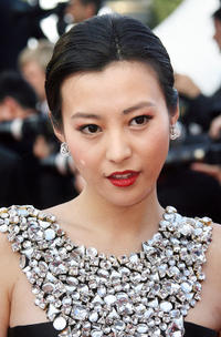 Hao Lei at the premiere of