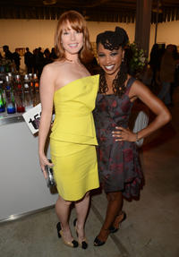 Alicia Witt and Shanola Hampton at the 6th Annual Pieces of Heaven Powered By Ciroc Ultra Premium Vodka in California.