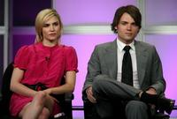 Samaire Armstrong and Seth Gabel at the 2007 Summer Television Critics Association Press Tour.