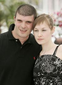 Samuel Boidin and Adelaide Leroux at the photocall of