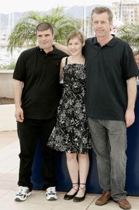 Samuel Boidin, Adelaide Leroux and Bruno Dumont at the photocall of