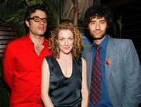 Jemaine Clement, Loren Horsley and Taika Waititi at the after party of the premiere of