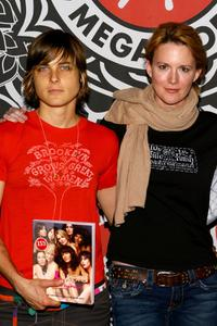 Daniela Sea and Laurel Holloman at the book signing of