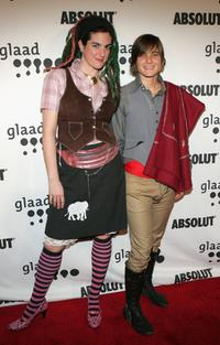 Bitch and Daniela Sea at the 17th annual GLAAD Media Awards.