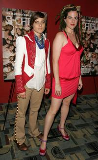 Daniela Sea and Bitch at the premiere of