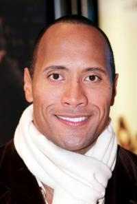 Dwayne Johnson at the UK premiere of
