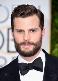 Jamie Dornan at the 72nd Annual Golden Globe Awards in California.