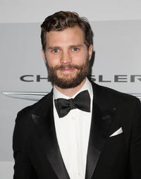 Jamie Dornan at the NBCUniversal 2015 Golden Globe Awards in California.