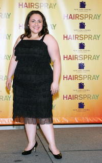 Nikki Blonsky at a Las Vegas photocall for