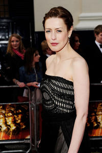 Gina McKee at the Olivier Awards 2011 at Theatre Royal in London.