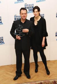 Michael Grandage and Gina McKee at the South Bank Show Awards.