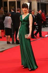 Gina McKee at the British Academy Television Awards 2008.