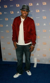 Chris Brown at the Us Weekly Hot Hollywood Party in L.A.