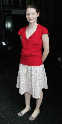 Mia Wasikowska at the L'Oreal Paris 2006 AFI Awards.
