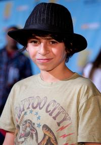 Moises Arias at the DVD premiere of
