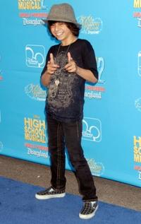 Moises Arias at the world premiere of