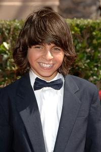 Moises Arias at the 2007 Creative Arts Emmy Awards.