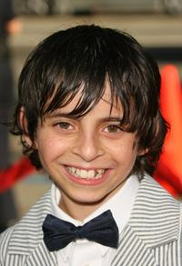 Moises Arias at the premiere of