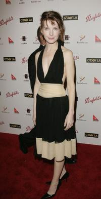 Jacqueline McKenzie at the Penfolds Icon Gala.